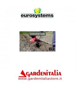 Video Motozappa EURO 3 EVO con Rincalzatore Eurosystems al lavoro