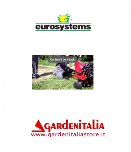 Video Motozappa EURO 5 EVO 2+1 Eurosystems al lavoro