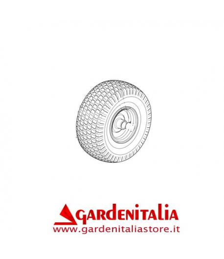 RUOTA ANTERIORE COMPLETA TRATTORINO CASTELGARDEN GGP TCF C/CAMERA D'ARIA