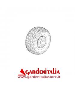 RUOTA POSTERIORE COMPLETA TRATTORINO CASTELGARDEN GGP TC/TCJ C/CUSCINETTO CARLISLE
