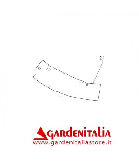 Bandella Protezione Rider 76 Lato Sinistro  EUROSYSTEMS
