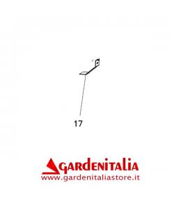 Gancio per Cesto Rider 76/82 Lato Sinistro  EUROSYSTEMS