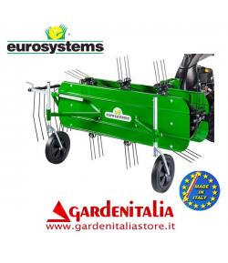 Ranghinatore per P 130 Eurosystems - Larghezza di lavoro da 120 a 155 cm