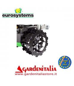 Coppia Ruote in Ferro Carreggiata ZT 99 cm per P 130 Eurosystems